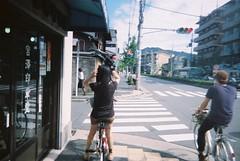 左京都變態男子休日 (focusc) Tags: film rollei cycling october kyoto disposable hsikai