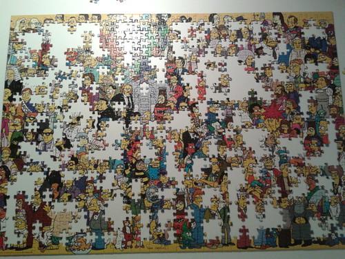 Puzzle de Los Simpsons