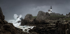 Storm... (Olivier G35) Tags: mer lighthouse bretagne phare panoramique tempête finistère ourtime ouessant theworldwelivein créach simplysuperb daarklands