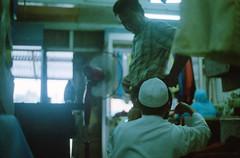Tailor (MierolSeraf) Tags: slr film 50mm gold kodak bokeh muslim om10 200 malaysia analogue f18 legend baju zuiko melayu tailor terengganu manir