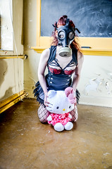 DSC_0794-2 (Studio5Graphics) Tags: abandoned dark pepper photography photo scary model nikon alone moody post mask modeling hellokitty apocalypse gas haunted future gasmask 2013 d5100