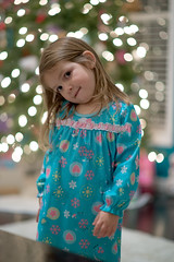 GVY_4259_edited-1 (nsioss) Tags: christmas pink blue light holiday girl childhood smiling toddler natural happiness indoor preschool excitement pajamas nightgown 3yearold
