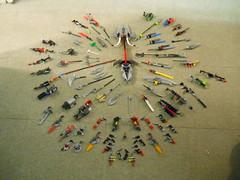 DSCN2432 (vrgamer363) Tags: spears rifles axe g