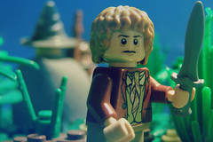 There And Back Again. (FinalShotFilms) Tags: lego scene lord ring lotr rings gandalf batman hobbit frodo bilbo the