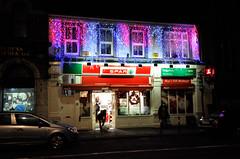 Spar Christmas (Michael_Beresford_Photos) Tags: christmas street ireland night cork spar