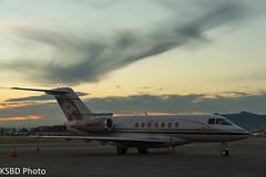 N860AP Talon Air Hawker 4000 (KSBD Photo) Tags: airport bur air talon burbank hawker bobhope 4000 kbur n860ap