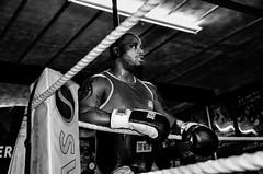 The boxer 3 (sophie_merlo) Tags: portrait blackandwhite bw blancoynegro sport bristol blackwhite 2000 noiretblanc boxing