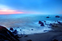 Bodega Coast, California (Vern Krutein) Tags: california travel sunset usa nature northerncalifornia fog landscape coast scenery natural surreal coastal bodega coastline mystical sonomacounty wilderness scenes bodegabay scenics northcoast geoform