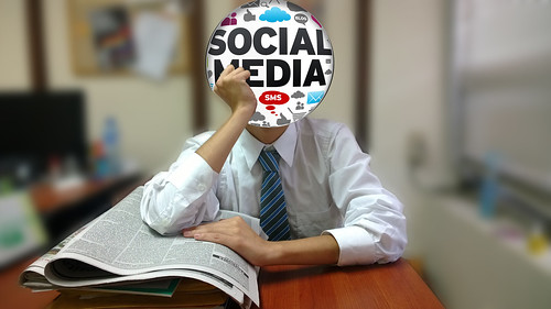 social media by clasesdeperiodismo, on Flickr