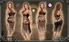 Actea Beige Outfit jpg (Sweet Lies - LIES FACTORY GROUP) Tags: life women medieval fantasy secondlife bloggers second peasant caste gor gorean sweetlies