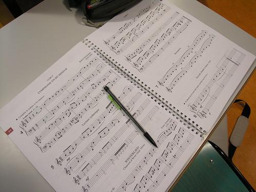Ecole de musique - Partition