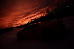 Fire Aventador sunrise (Animal POWA) Tags: sunrise canon landscape sigma lamborghini sportscar 1020mmf456exdc aventador