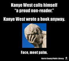 Face-Meet Palm (hcplebranch) Tags: reading marketing libraries books ebranch digitalservices harriscountypubliclibrary facebookgraphics harriscountypl
