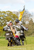[2014-04-19@15.10.48a] (Untempered Photography) Tags: history costume fight flag helmet battle medieval weapon sword knight shield combat armour reenactment skirmish combatant canonef50mmf14 perioddress platearmour gambeson untemperedeye canoneos5dmkiii untemperedeyephotography glastonburymedievalfayre2014