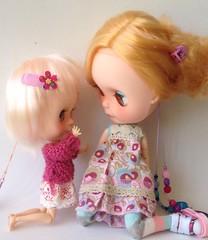 Custom blyh basaak dolls