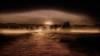 sunrise (Explored) (e christopher drake) Tags: sky blackandwhite bw sun misty fog oregon portland landscape island soft dream surreal ethereal vista dreamy minimalism sauvieisland subtle lightandfog oneplace goldenart minimalblackandwhite cloudsstormssunsetssunrises