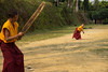 Rinchenpong_April_2014_136 (Satyaki Basu) Tags: travel people india kids canon eos indian places cricket hills monastery f28 himalayas sikkim t3i 1755 kanchenjunga 600d rinchenpong westsikkim kaluk