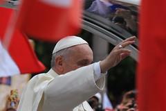 IMG_9060 (Armend Kabashi) Tags: world street people cloud pope vatican rome church saint canon john francis paul europe catholic flag ceremony christian peter benedict canonisation