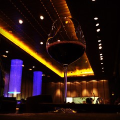 This is a shot of Blue Ginger restaurant at Taj Palace New Delhi. Stunning ambience, wonderful service, very romantic place! #wine##ambience#delhi #design#interiors (anurag.) Tags: design wine delhi ambience