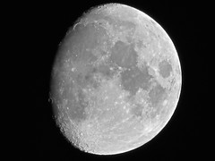 Waxing Gibbous Moon - January 30,, 2015 (spacemike) Tags: sky moon mare charlotte space northcarolina luna craters crater astrophotography astronomy nightsky charlottenc lunar waxinggibbous crescentmoon waxingmoon gibbousmoon charlottenorthcarolina moonphase astromike waxinggibbousmoon spacemike