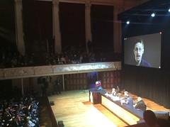 Moments of Truth (:::Mat:::) Tags: party town hall julian kim internet glen edward auckland laila mana snowden dotcom harre greenwald assange