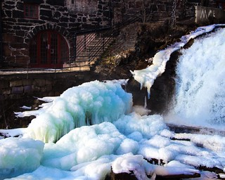 Winter Waterfall 9
