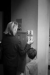 Let Me Do It (photoboy2005) Tags: street bw sc children mom kid nikon child mother charleston mum d80