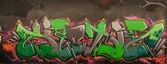 Klone (tombomb20) Tags: street art wall underpass graffiti paint tag leeds spray wakefield lettering graff klone 2061 tfa 2015 horbury tombomb20 klonism