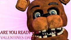 Day 1 (Freddy Valentine) (Barricade247) Tags: 2 day five valentines nights freddy freddys fnaf fazbear