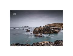 Slow sea at Godrevy (silver/halide) Tags: longexposure sea lighthouse seascape landscape rocks cornwall atlantic seashore godrevy kernow godrevylighthouse northcliffs godrevyisland bigstopper