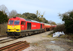 60063 at Haresfield. (curly42) Tags: transport railway tug freight dbs murco class60 haresfield 60063 6b13