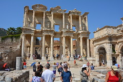 Me (Andy Teach) at Library of Celsus-Ephesus, Turkey (andyteach) Tags: ephesus celsuslibrary ephesuslibrary ephesusturkey libraryofcelsus libraryofcelsusephesus ancientruinsinturkey