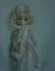 Marnie in the mist (PositivelyThrifty) Tags: pine ball doll bjd resin luts jointed kiddelf