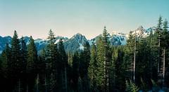 Mount Rainier's Buddies (spiritusmentis) Tags: panorama nationalpark nikon kodak 8x10 mountrainier sw cropped nikkor f8 largeformat 150mm portra160 gibellini