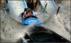 Making a splash (* RICHARD M) Tags: wet water fun happy fairground action candid happiness splash resorts funfair southport pleasure pleasureland logflume merseyside funandgames sefton holidayresorts makingwaves makingasplash funofthefair fairgroundfun southportspleasureland pleasurelandlogflumesouthport