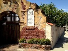 L.A. (dave87912) Tags: california old blue summer sky green wall losangeles spring lemon cool bricks sunny sangabriel winery socal mission 626 sgv