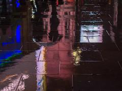 under the umbrella (Cosimo Matteini) Tags: reflection london rain pen umbrella couple colours olympus piccadillycircus paving m43 mft ep5 undertheumbrella cosimomatteini mzuiko45mmf18
