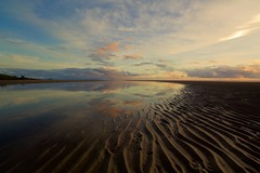 Let the tide in, and set me free. (dmunro100) Tags: autumn sea sky cloud reflection water glass sunrise dawn mirror sand dof peaceful wideangle calm depthoffield serene f22 portdouglas fnq farnorthqueensland