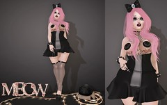 Post #1715 ( =^^=) Tags: pink light roses black eye stockings fashion tattoo cat hair star blog shoes punk mesh box furniture letters emo goth makeup kitty skirt rings leopard secondlife eyeball bow meow hud decor pasties applier pinkatude inails sashakittehwildrose