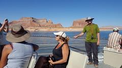 Cruising in Lake Powell to get to Rainbow Bridge