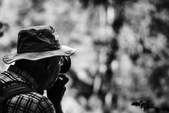 Looking (donlunzo16) Tags: lighting camera 2 bw woman sun sunlight white man black men film lens nikon women df raw day nef looking picture x pack filter nd nikkor taking 58mm making vignette afs f114 breitachklamm vsco d