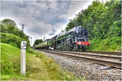 92214. Signal check . (Alan Burkwood) Tags: swindon steam signals locomotive loughborough semaphore gcr 9f 92214
