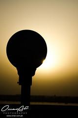 Silhouette (ibounce2ounce) Tags: pakistan sunset abstract home colors silhouette architecture bokeh dam bridges multan
