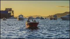 Midsummer Night (Vardetangenfilm) Tags: sunset sea people sun norway night boat midsummer sommer bergen laksevg fjords vann skyer solnedgang vestlandet sj byfjorden bergennorge norwaybergen vardetangen vardetangenfilm
