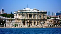 Istanbul, Dolmabahe Palace (gerard eder) Tags: world travel turkey europa europe istanbul palace trkei turquia bosphorus reise estambul dolmabahe bosphoro