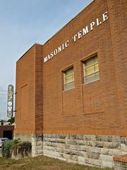 Masonic Temple, Chillicothe, MO (Robby Virus) Tags: sign temple neon masonic missouri masons signage chillicothe fraternal organization 1959 freemasons afam