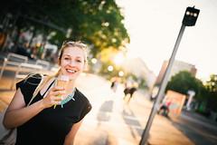 Ice cream time (_gate_) Tags: vienna ice girl austria cream blond eis
