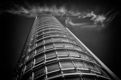 andromeda.tower (d26b73) Tags: urban blackandwhite bw monochrome architecture skyscraper noiretblanc schwarzweiss urbanarte