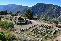 Delphi Ruins, Greece (satinonline2) Tags: theater delphi tholos templeofapollo delphigreece delphiruins delphiruinsgreece sanctuaryofathenadelphi
