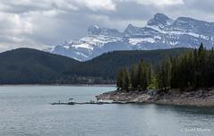 IMG_9263 (Scott Martin Calgary) Tags: ca trees canada mountains boats alberta lakeminnewanka improvementdistrictno9